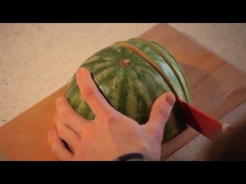 Ako šikovne nakrájať melón