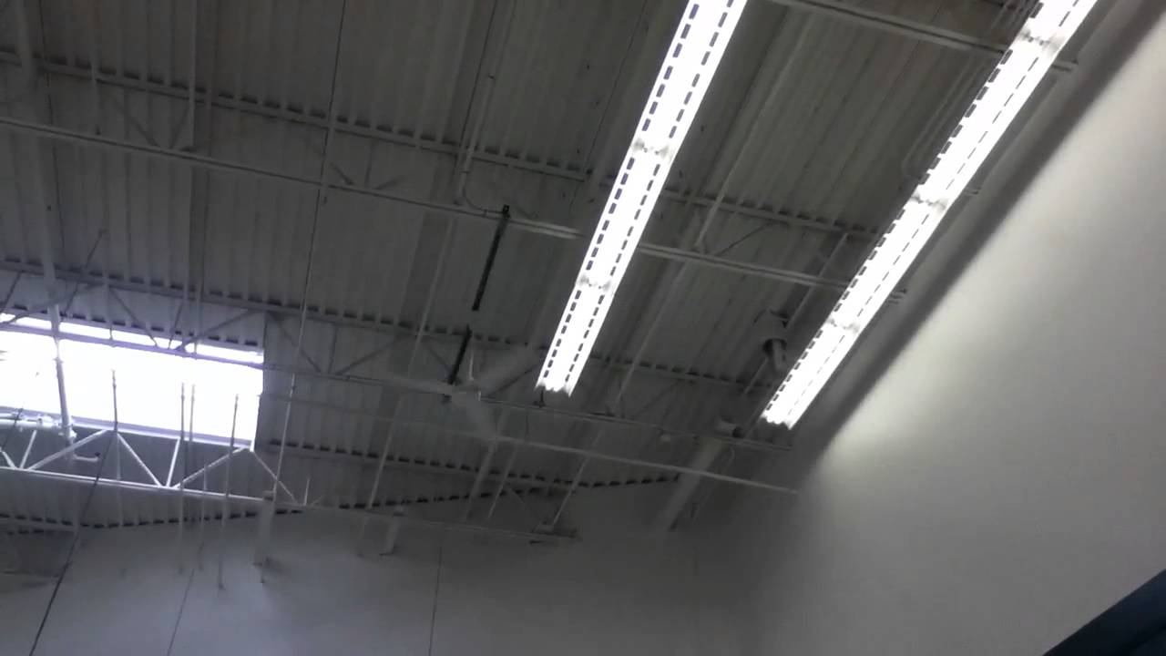 4 60 Quot Dayton Marley Industrial Ceiling Fans At Winco Foods