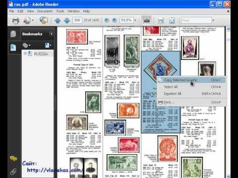 AdobeReader. Копирование фрагмента PDF-документа в картинку с GIMP без фотошопа #PI