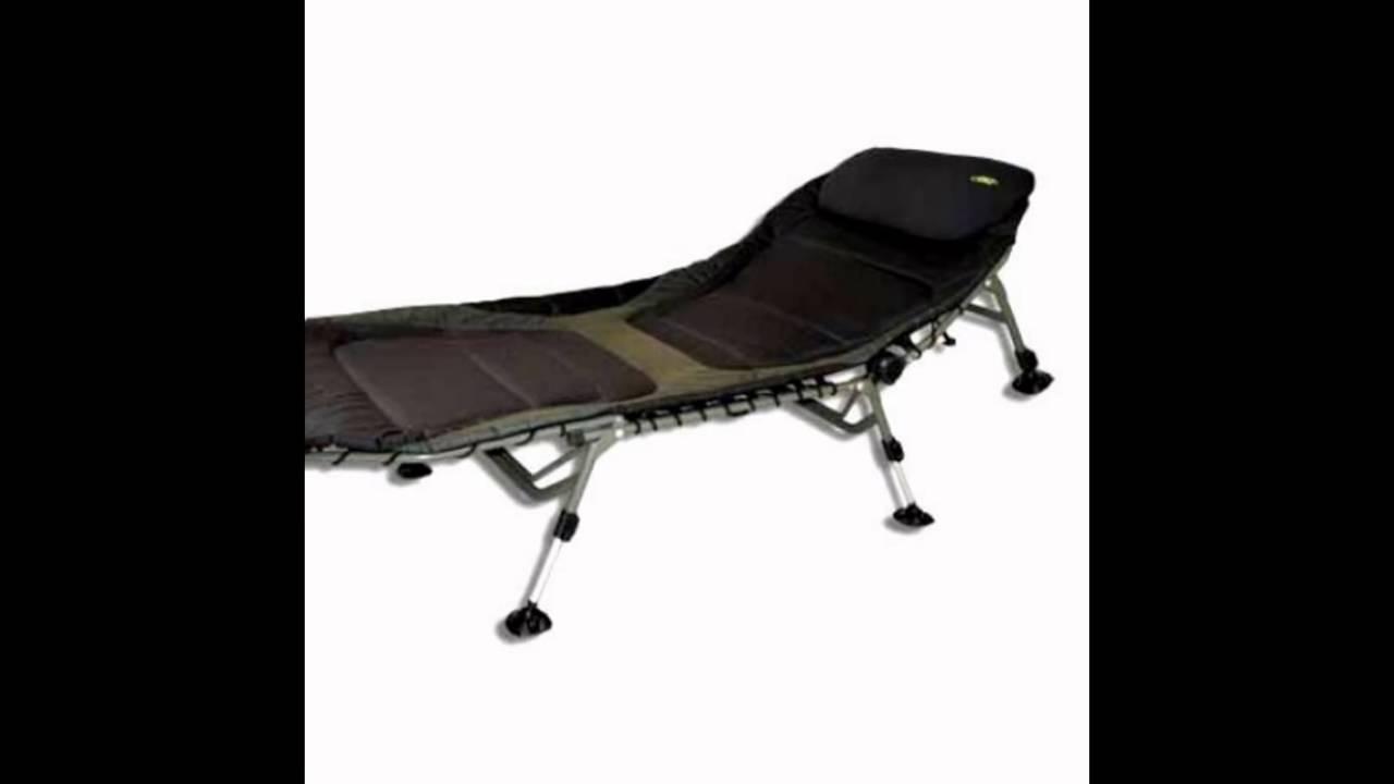 Кресло раскладное для рыбалки Elektrostatyk-M F8 обзор - YouTube