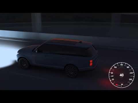 Land Rover Matrix LED Headlights