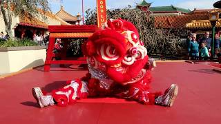 Disney's Epcot Chinese Lion Dance Festival of the Holidays Lunar New Year Full Show