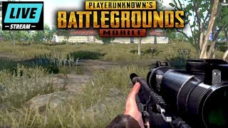 FPP PUBG Mobile Live Stream Playing with Subs in First Person Mode! HD Settings (Lightspeed/English)