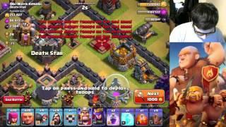 Clash of clans   TH 10 Dark Elixir Farming   Pre-Update 2015