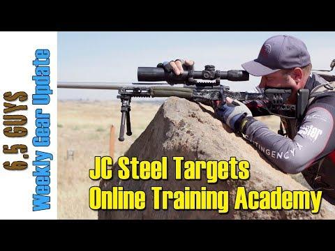 Gear Update - 042 JC Steel Targets, Online Training Academy