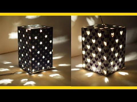 YellowCrafts - DIY Cardboard Lantern | SHASHI GUPTA