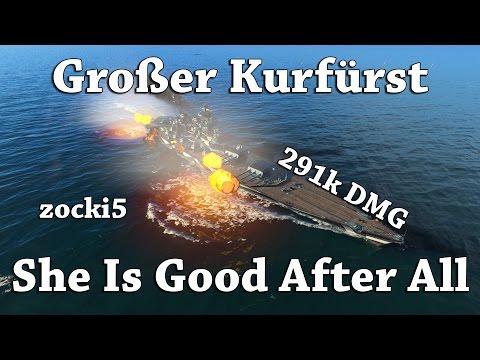 WoWS: Grosser Kurfürst - Good After All [291k DMG] by zocki5