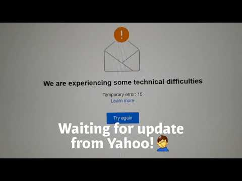 Yahoo Servers Are Down! 22 Oct 2019