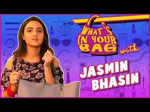 Jasmin Bhasin aka Teni | What's In Your Bag | Dil Se Dil Tak