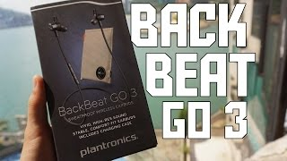 Plantronics Backbeat GO 3 - Unboxing & Review