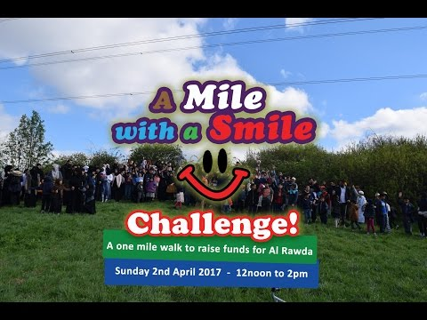 MILE WITH A SMILE 2017 CHALLENGE (Updated)