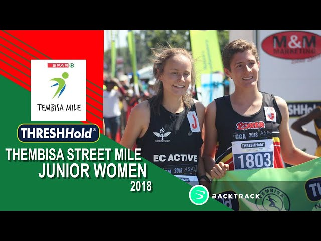 2018 Tembisa ThreshHold Streetmile Junior WOMEN