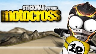 Stickman Downhill - Motocross Android GamePlay Trailer (HD) [Game For Kids]
