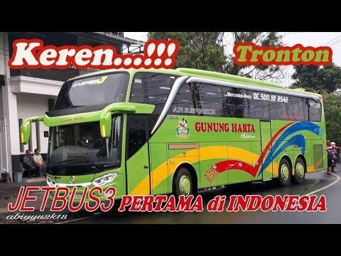 Mantap,, Jet Bus3 Chassis TRONTON Pertama di Indonesia...
