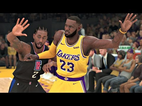 nba-2k20-gameplay---los-angeles-lakers-vs-los-angeles-clippers-–-nba-2k20-ps4