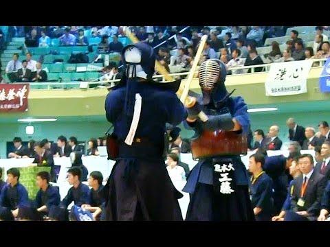 Kendo 日体大×熊本大 (2回)全日本学生剣道優勝大会2013-1104