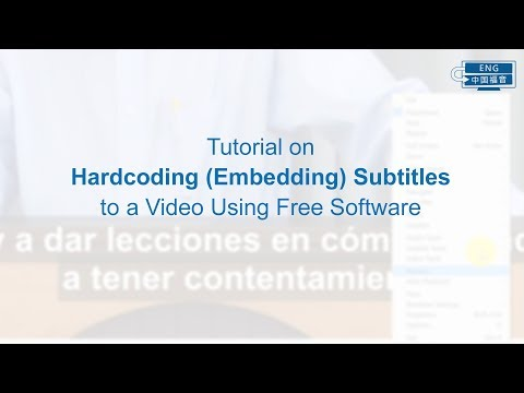 Tutorial on Hardcoding Subtitles to a Video Using Free Software thumbnail