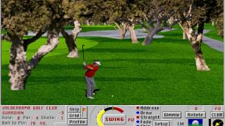 Links LS: Championship Course - Valderrama (Access) (MS-DOS) [1997] [PC Longplay]