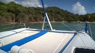 Breanker- 55' Luxury Crewed Yacht Charter Catamaran Sailing Charter