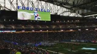 Detroit Lions 2017 Opening Day Intro vs Arizona Cardinals