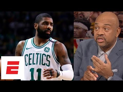 9fda110140 Kyrie Irving's future with Boston Celtics still questioned after commitment  | ESPN Voices - YouTube