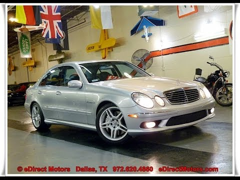 2006 Mercedes Benz E55 Amg Edirect Motors Youtube