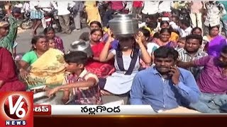 People Stops TRS MLA Campaign | Husband Attacks Wife | Police Open House | Telangana State Roundup
