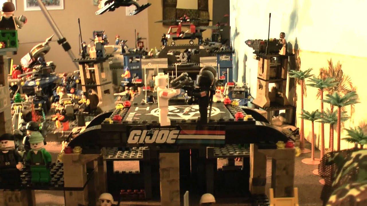 LEGO G.I. JOE RETALIATION : SNAKE EYES SHOOTOUT - YouTube