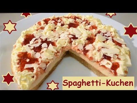 Spaghetti Kuchen Ein Echter Hingucker Auf Dem Kaffeetisch Youtube