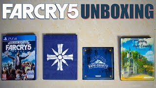"FAR CRY 5  UNBOXING  Deluxe Edition ""Pre-order Version"" - GGM"