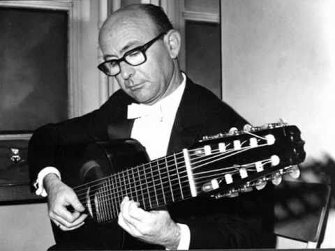 Narciso Yepes Spanish Classical Guitar Music