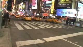 Nueva York: Una noche cualquiera en Times Square