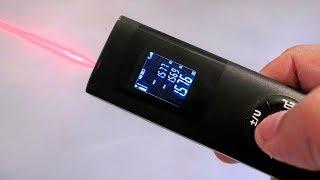 На что способна дешёвая лазерная рулетка с Алиэкспресс! USB рулетка для дома!