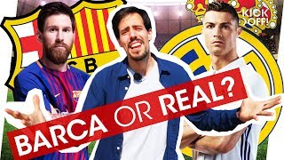 FC Barcelona vs Real Madrid: Who would YOU play for?