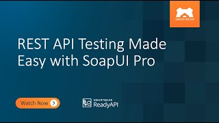 REST API Testing Made Easy with SoapUI Pro