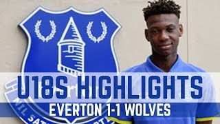 U18 HIGHLIGHTS: EVERTON 1-1 WOLVES