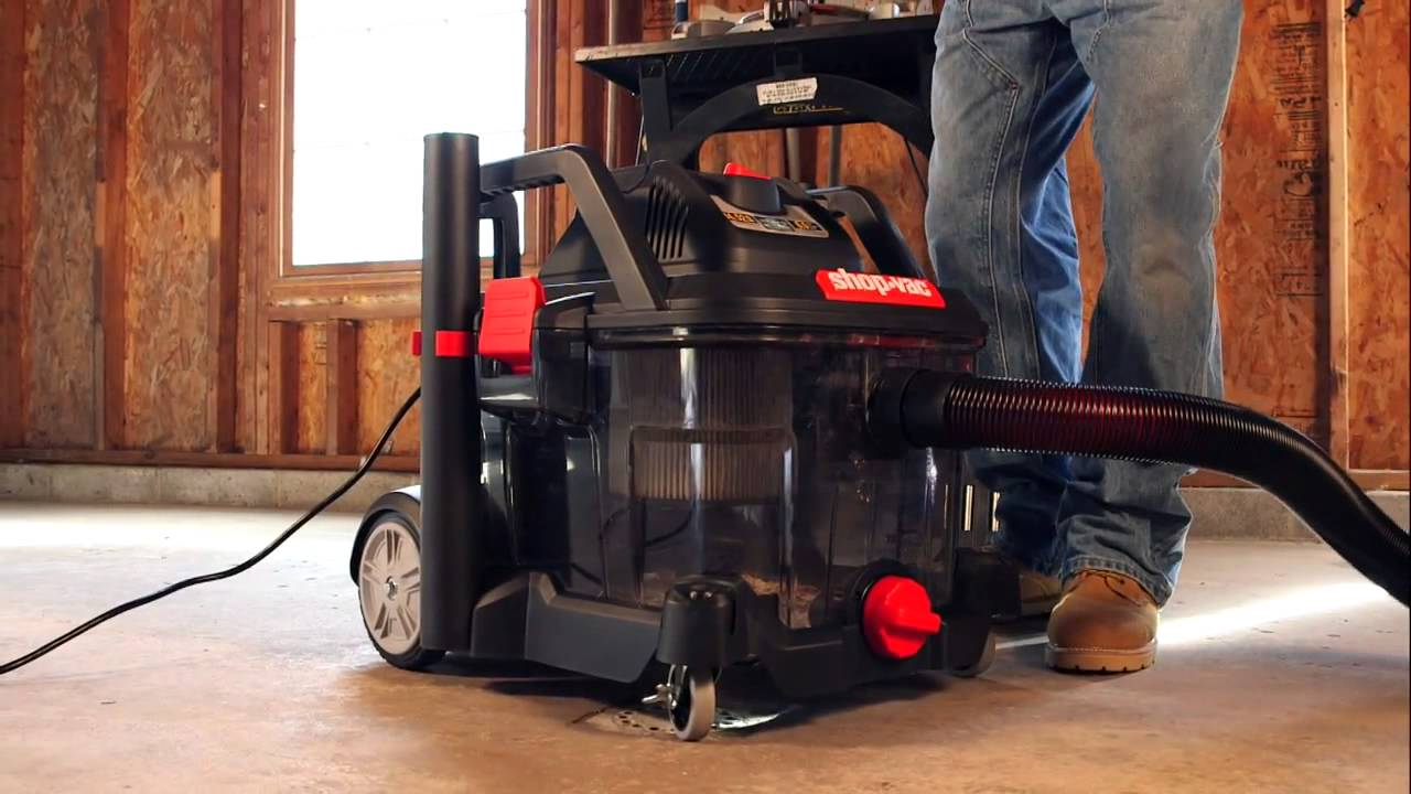 Shop Vac® Clearly Different Wet/Dry Vac   YouTube