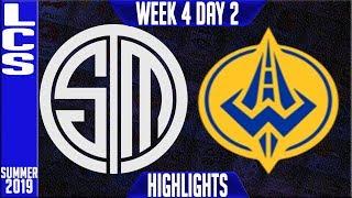 tsm-vs-ggs-highlights-lcs-summer-2019-week-4-day-2-team-solomid-vs-golden-guardians