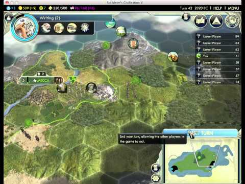 Let's Play Civilization 5 9:1 - Arabia (Harun al-Rashid)