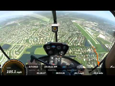 Helicopter Training Extreme Traffic Day Chicago land Close Call Read Description for Details