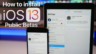 iOS 13 and iPad OS Public Betas are Out - How To Install
