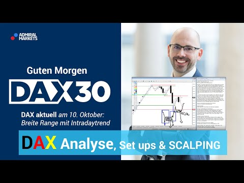 DAX aktuell: Analyse, Trading-Ideen & Scalping | DAX 30 | CFD Trading | DAX Analyse | 10.10.19