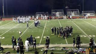 Riverdale Spartans Semi-Pro Football - 03-10-18 - vs Metro ATL Horsemen - Game Video (2nd-4th Qtr)