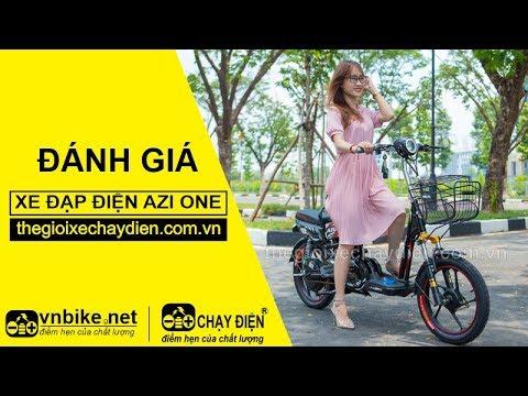 Đánh giá xe đạp điện Azi One
