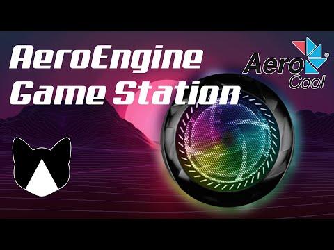 Яркий и оригинальный! Сборка AeroEngine Game Station.
