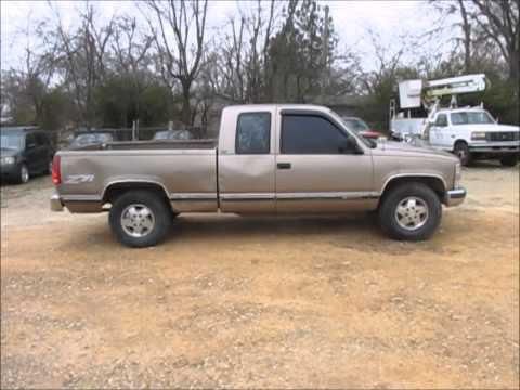 1995 Chevrolet Silverado 1500 Z71 Ext Cab Pickup Truck