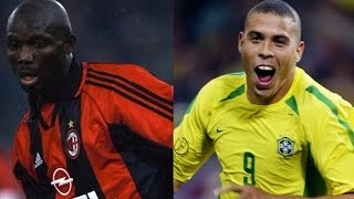 George Weah vs. Ronaldo Nazario · Mejores Goles || Best Goals || ¿Con quién te quedas?