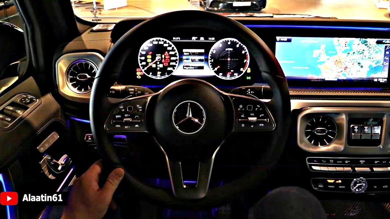 2019 NEW Mercedes G Class - INTERIOR