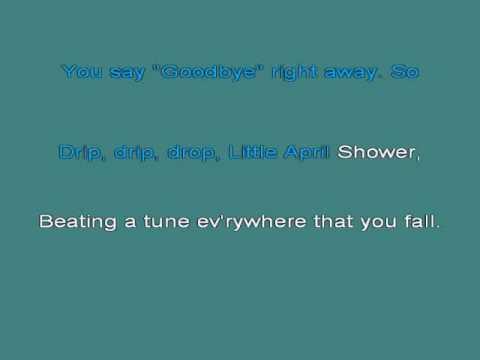Little April Shower   Bambi [karaoke]