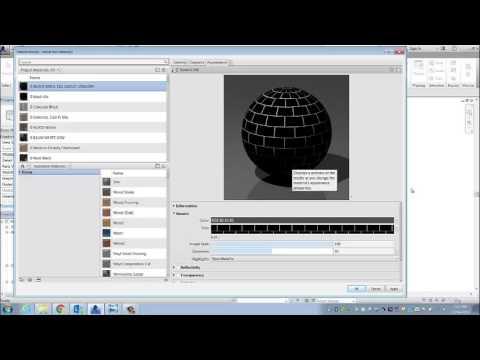 Revit Materials Tile Black Glossy Youtube